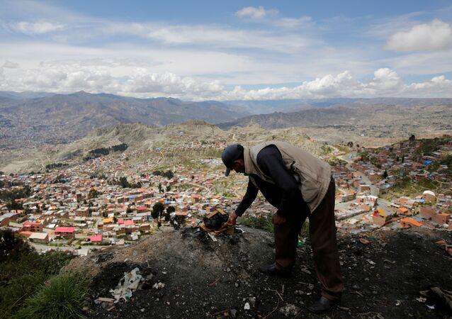 Un boliviano en El Alto
