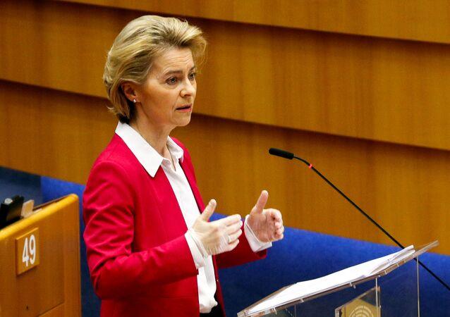 Ursula von der Leyen, la presidenta de la Comisión Europea