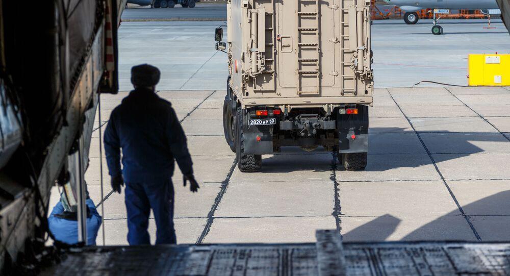 La ayuda rusa llega a Italia para combatir el coronavirus
