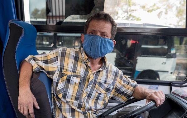Autobusero venezolano - Sputnik Mundo