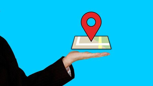 Geolocalización digital móvil mapa - Sputnik Mundo