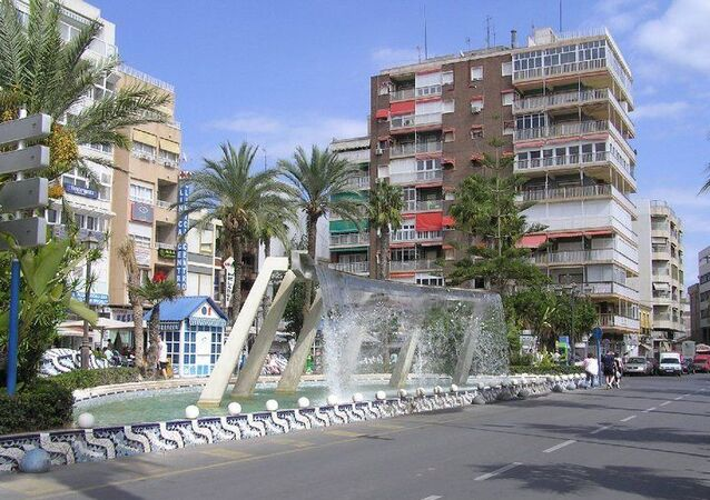 Bloque de pisos de Torrevieja