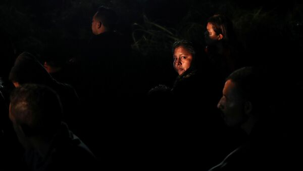 Migrantes centroamericanos en México (imagen referencial) - Sputnik Mundo