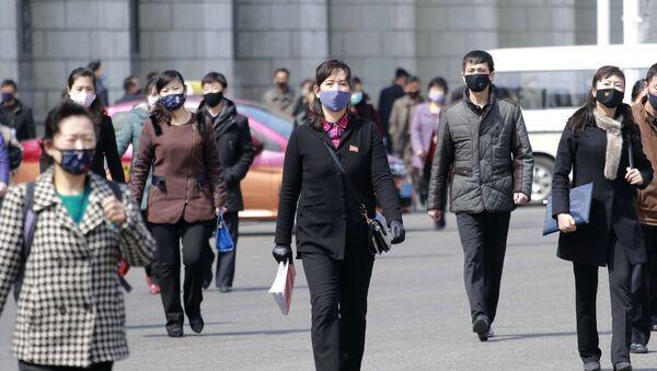 Cómo vive Corea del Norte la pandemia del coronavirus - Sputnik Mundo