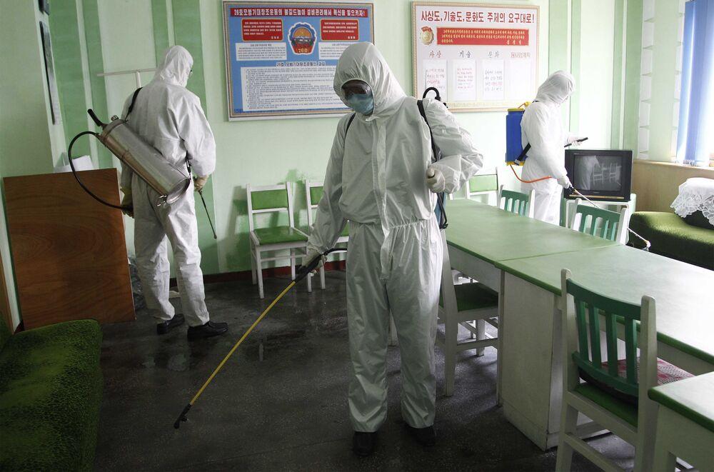 Cómo vive Corea del Norte la pandemia del coronavirus