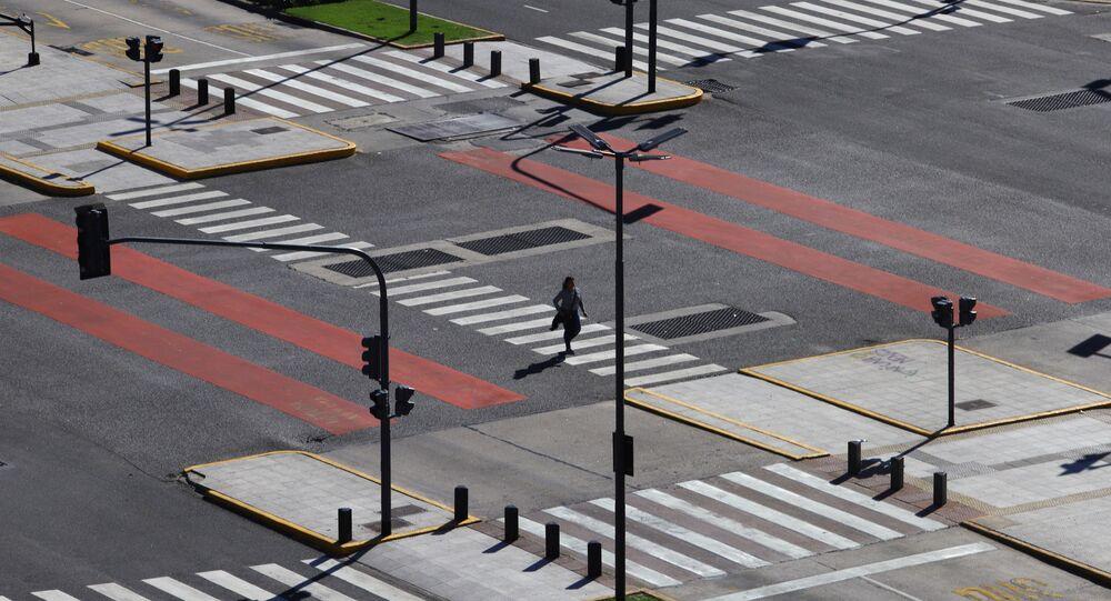 Buenos Aires, vacío por coronavirus