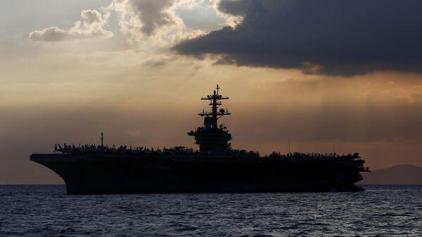 USS Theodore Roosevelt - Sputnik Mundo