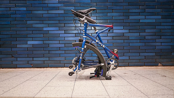Tuke Bike, bicicleta plegable creada por Alex Animashaun - Sputnik Mundo