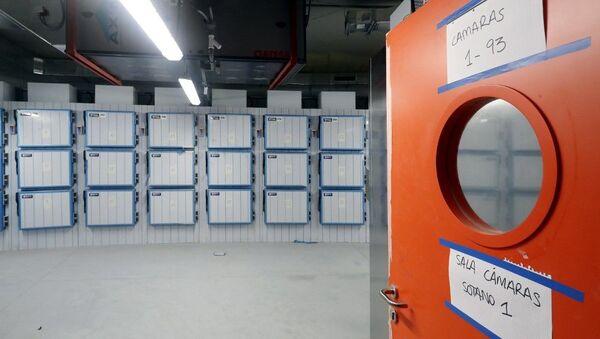 Ciudad de la Justicia en Madrid - morgue - Sputnik Mundo