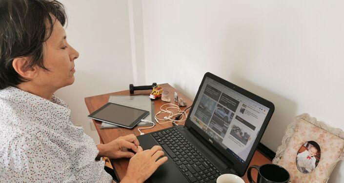Patricia Lee Wynne, Jefa de redacción de Sputnik en Montevideo