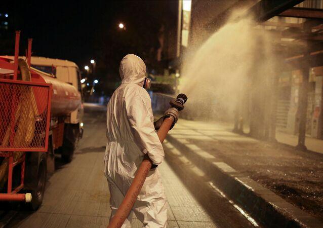 Lucha contra el coronavirus en Chile