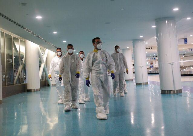 La Guardia Nacional de Puerto Rico durante el brote de coronavirus