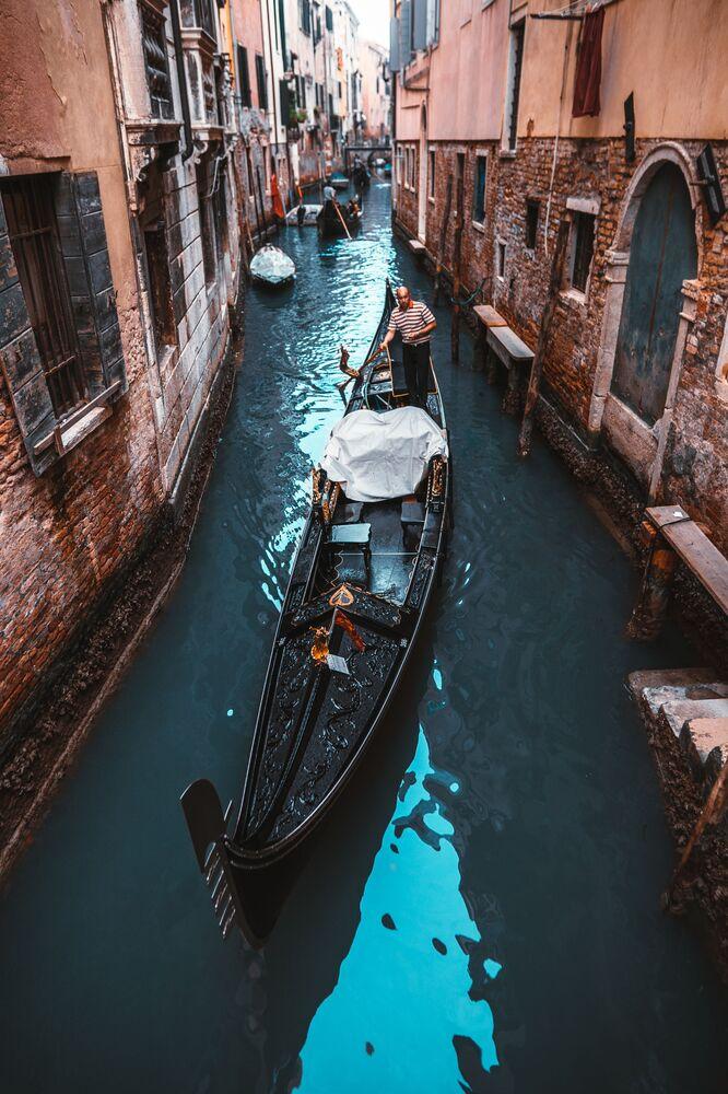 La foto 'Ciudad en el agua', de un fotógrafo ruso, presentado en el concurso The World's Best Photos of #Water2020. Tomada en Venecia, Italia.