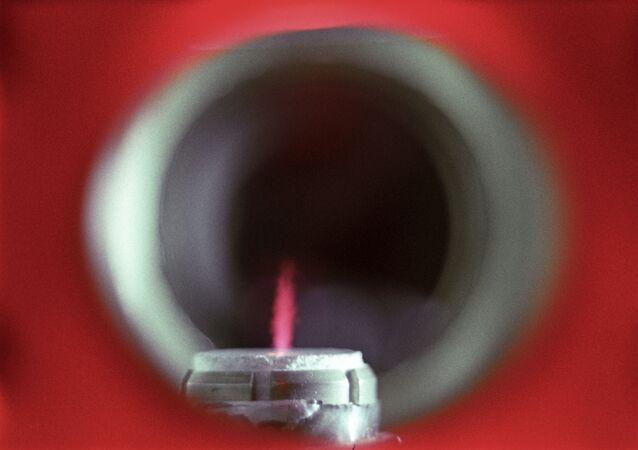 Una corriente de plasma, referencial