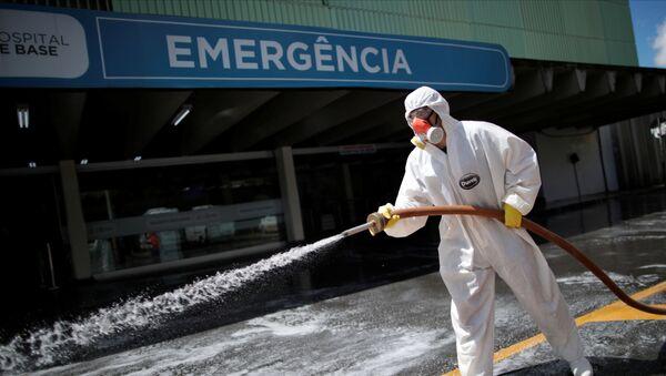 Hospital en Brasilia, Brasil - Sputnik Mundo