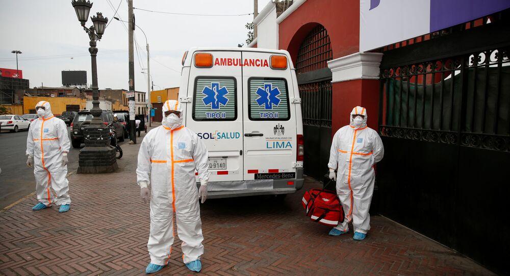 Ambulancia en Lima, Perú