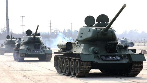 Los tanques T-34 - Sputnik Mundo