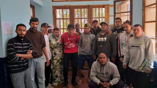Hinchas colombianos atrapados en Argentina por la pandemia - Sputnik Mundo