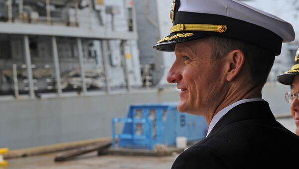 Brett Crozier, oficial de la Marina de EEUU - Sputnik Mundo