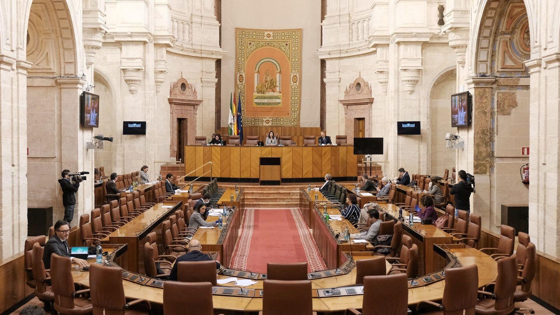 La Diputación Permanente del Parlamento de Andalucía - Sputnik Mundo, 1920, 21.07.2021