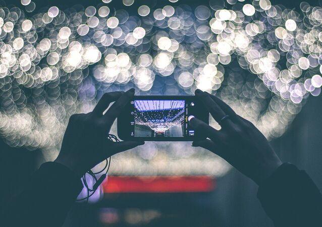 La pantalla de un smartphone