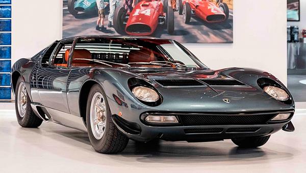 Lamborghini Miura SV - Sputnik Mundo