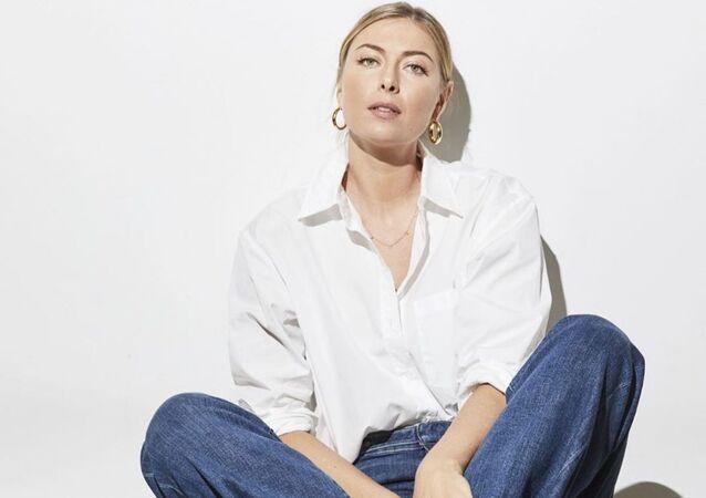 María Sharápova, extenista y modelo rusa