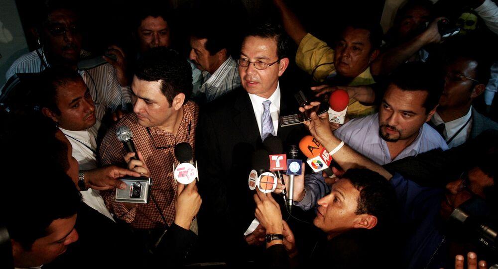 Rafael Leonardo Callejas, expresidente de Honduras