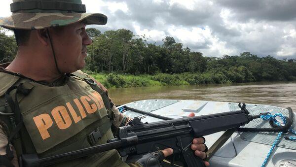 Policía de Perú - Sputnik Mundo