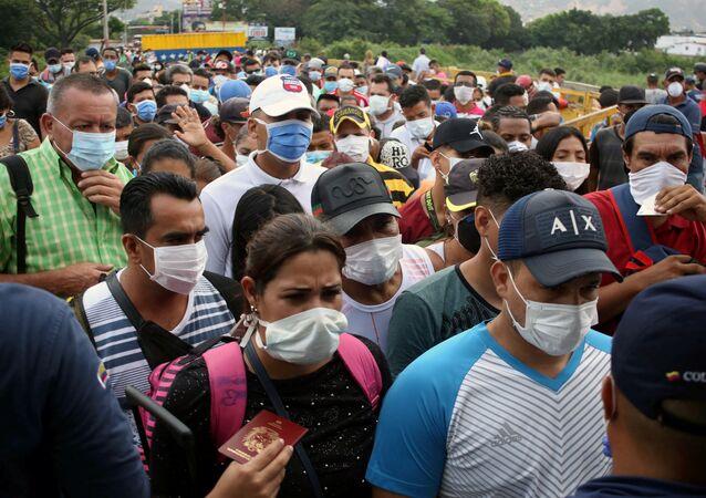 Situación en la frontera entre Colombia y Venezuela