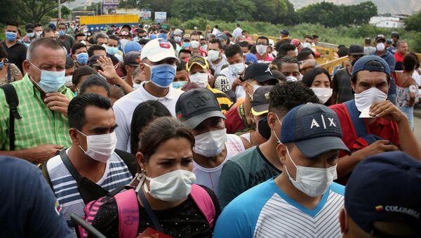Situación en la frontera entre Colombia y Venezuela - Sputnik Mundo