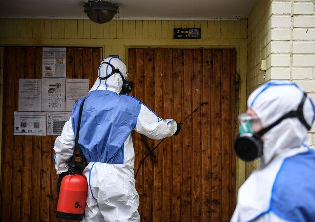 Desinfección (imagen referencial)