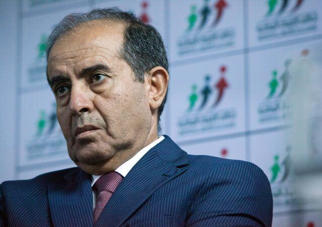 Mahmud Jibril, ex primer ministro de Libia (archivo)