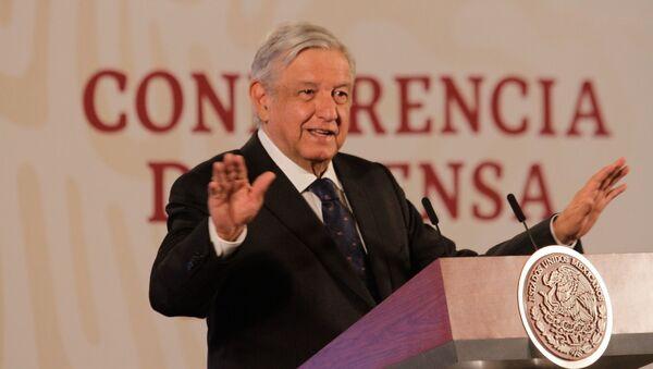 El presidente mexicano, Andrés Manuel López Obrador - Sputnik Mundo