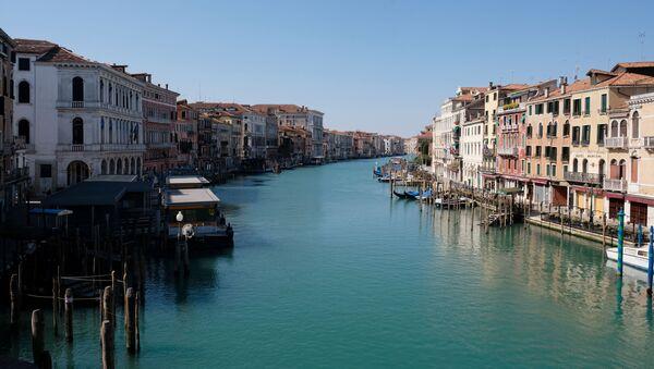 Cuarentena en Venecia, Italia - Sputnik Mundo