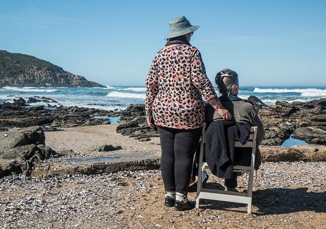 Amistad de ancianas