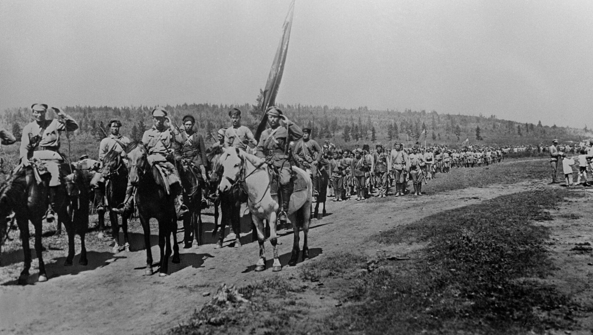 Unidades del Ejército Popular Revolucionario de la República del Lejano Oriente - Sputnik Mundo, 1920, 06.04.2020