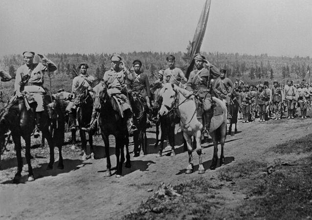 Unidades del Ejército Popular Revolucionario de la República del Lejano Oriente