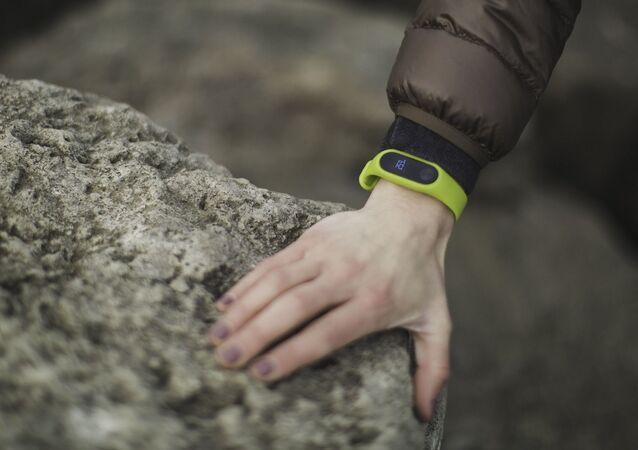 Una pulsera de 'fitness' (imagen referencial)