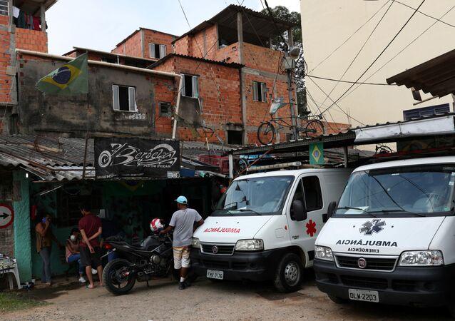 Ambulancias en Sao Paulo, Brasil
