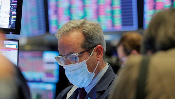 Bolsa de valores de Nueva York, EEUU - Sputnik Mundo