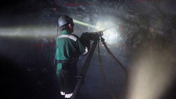 Trabajador de una minería mexicana (imágen referencial) - Sputnik Mundo