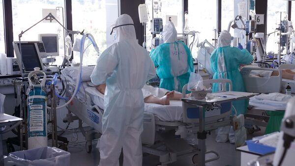 Hospital en España - Sputnik Mundo