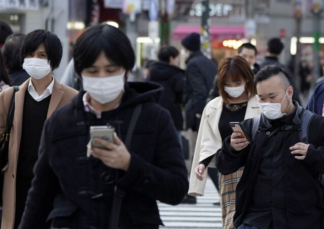 Gente en Tokio, Japón
