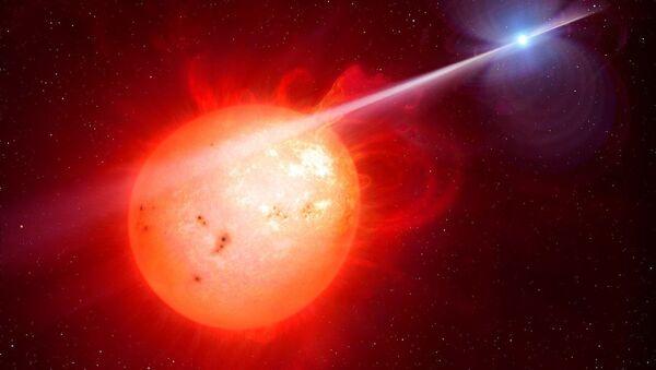 Estrellas binarias (imagen referencial) - Sputnik Mundo