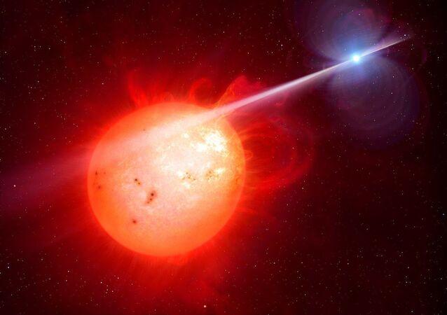 Estrellas binarias (imagen referencial)