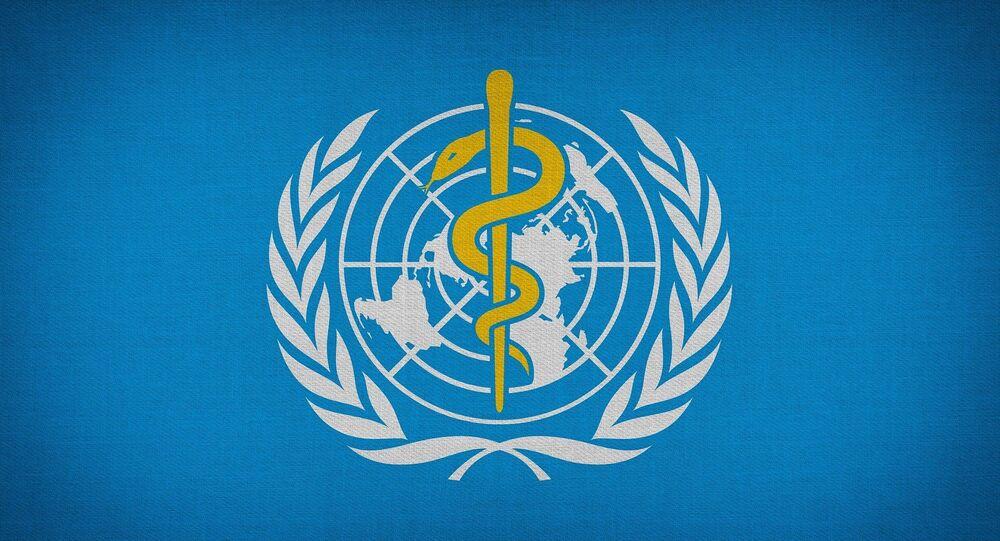 Logo de la Organización Mundial de Salud (OMS)