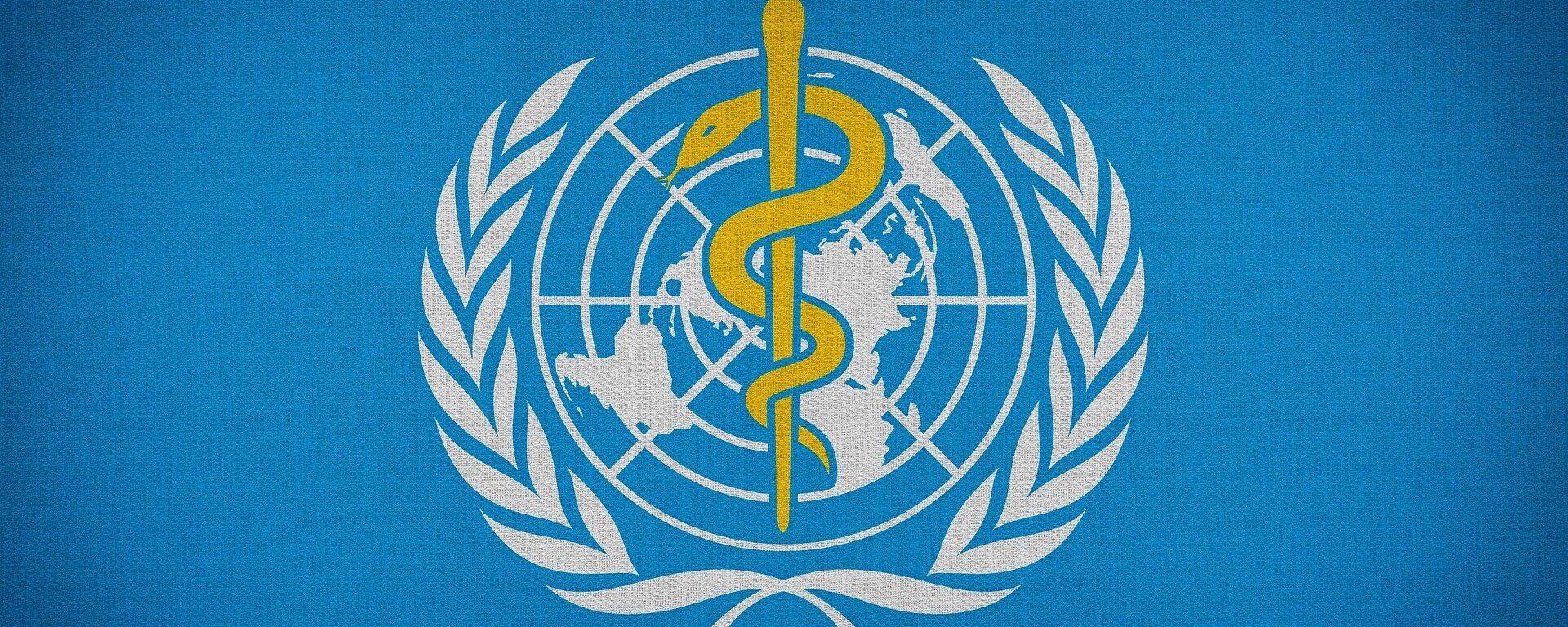 Logo de la Organización Mundial de Salud (OMS) - Sputnik Mundo, 1920, 23.07.2021