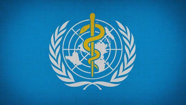 Logo de la Organización Mundial de Salud (OMS) - Sputnik Mundo
