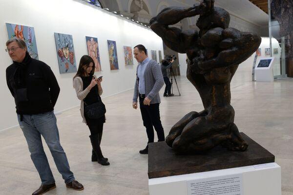 Ernst Neizvestni: un artista de luto y un hombre de libertad   - Sputnik Mundo